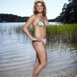 Jenny Rönnelöw ensam mamma bikini